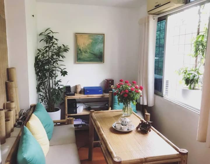 0_Relaxed Bamboo House- L'Hanoienne - Central Town