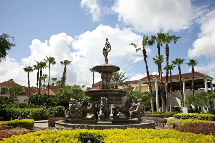 Wyndham Resort Entrance