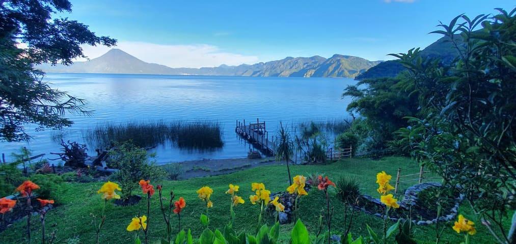 Lake Atitlán Muzzen Muzzef, a Moroccan Haven