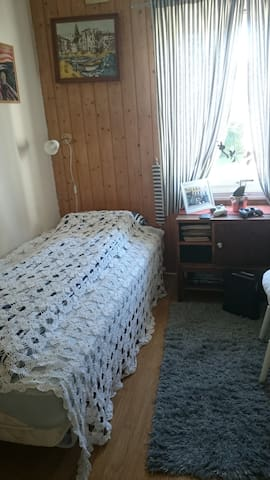 Nice bungalow just outside Town,with a nice garden - Trondheim - Apartamento