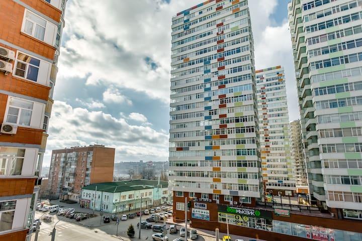 2х комнатная квартира на М.Горького - Rostov - Apartamento