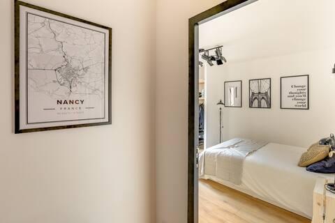 南希市中心的特殊家庭公寓