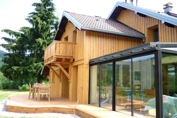 Chalet écologique en Pleine Nature - 8 pers - Ramonchamp - Huis