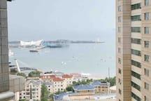 五月海景品质119平大套房&五四广场奥帆中心万象城&出门右拐浮山所地铁2号线