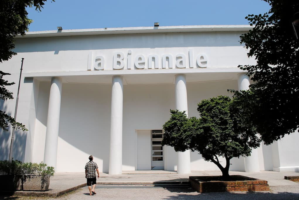 Biennale of Arts, just few steps