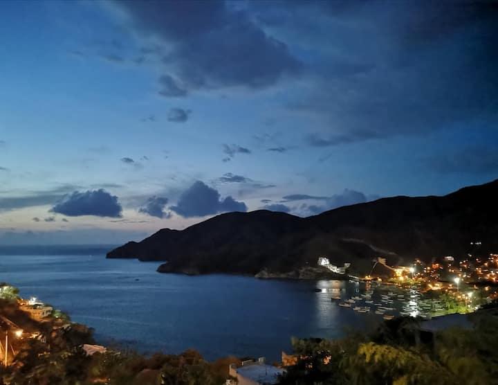 Loft LaMar I Vista a Bahía, único, romántico