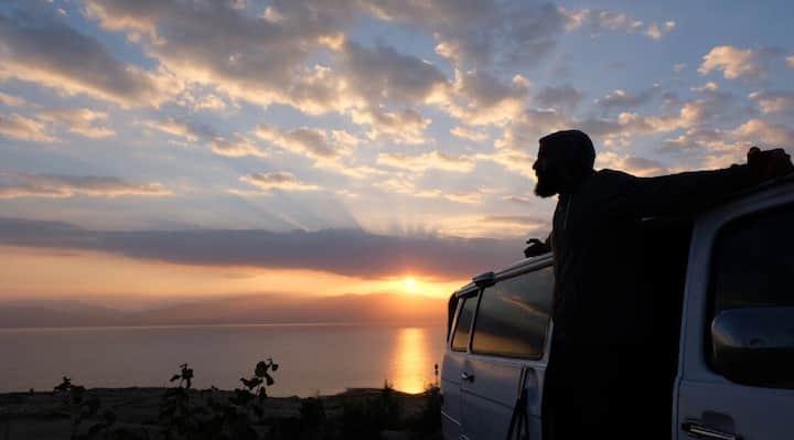 Camper van, outdoor living & holy land adventures
