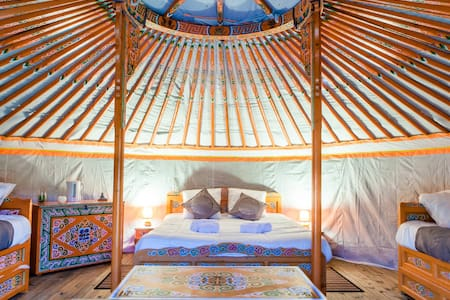 Yourte traditionnelle mongole - Yurt