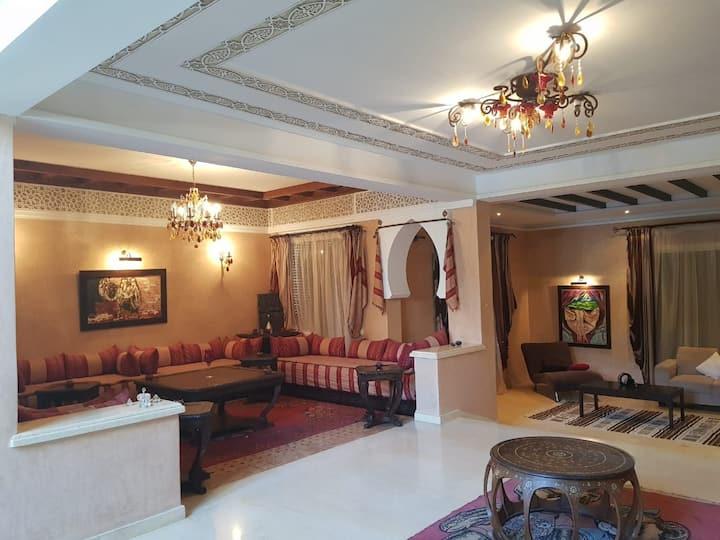Villa style andalou