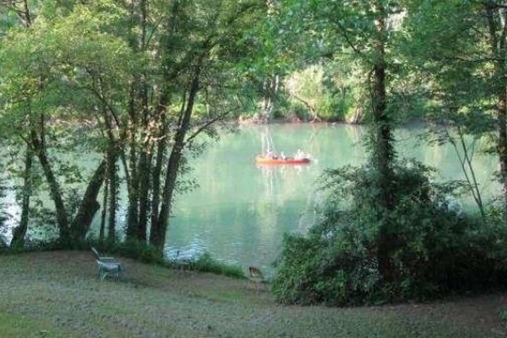Canoeing is always fun!