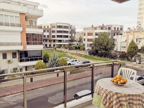 3+1 квартира у моря; 3+1 apart near sea, Konyaalti