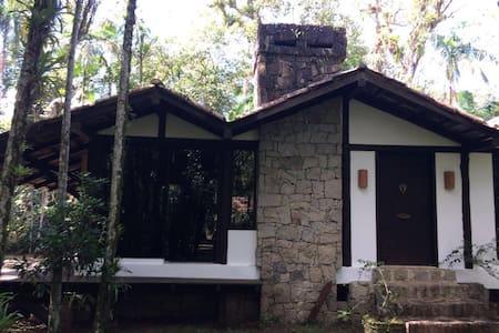 Casa super confortável na beira do rio - Antonina - Casa de campo
