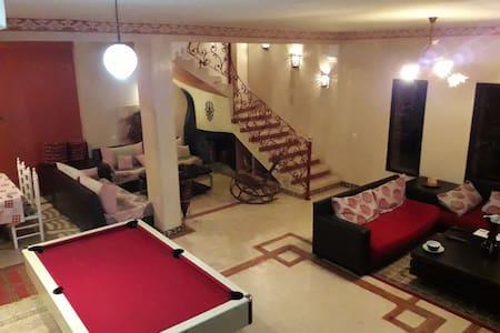 Villa Mazagan avec piscine privée-Sidi Rahal plage