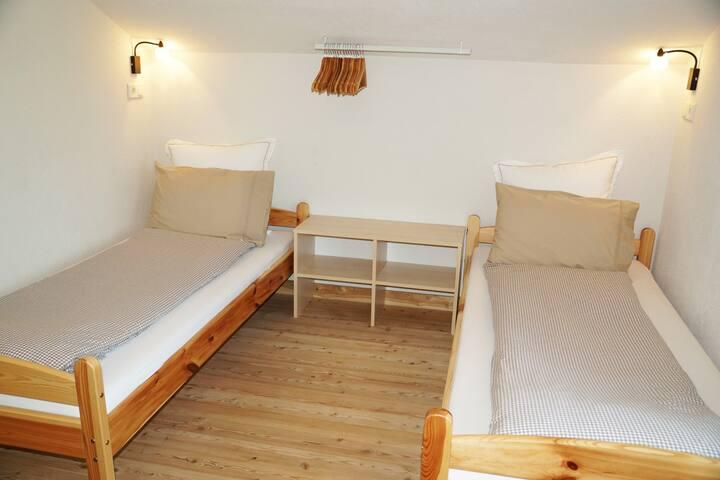 12 m² Twin Room Sleeps 1 or 2