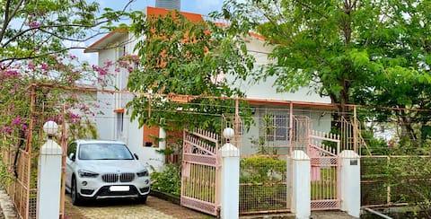 3 BHK Villa with Bathtub and Stargazing terrace