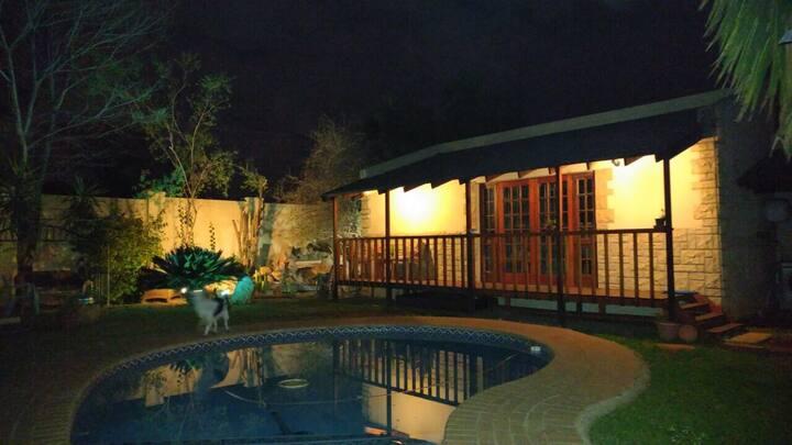 Ivo's garden cottage