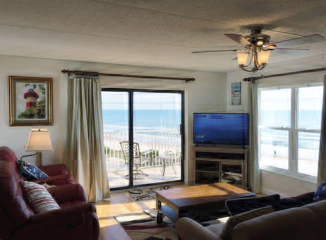 Ormond Beachfront 4th Floor Corner Condo Sleeps 6