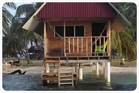 Cabaña Wai sobre Mar privado