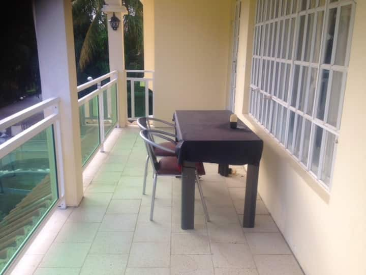 Apartment with 2 bedrooms in Trou aux biches, with enclosed garden and WiFi - 800 m from the beach