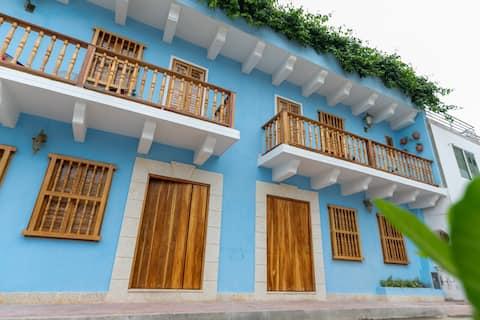 Casa Azul 2 💙 El Espinal
