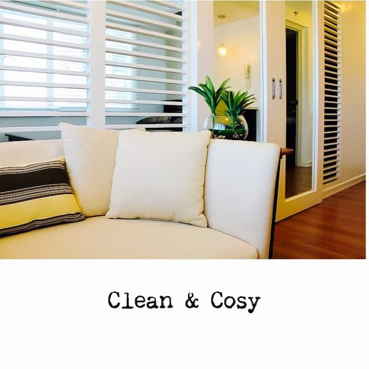 Clean, Cosy Studio Apt in Filinvest Alabang Manila