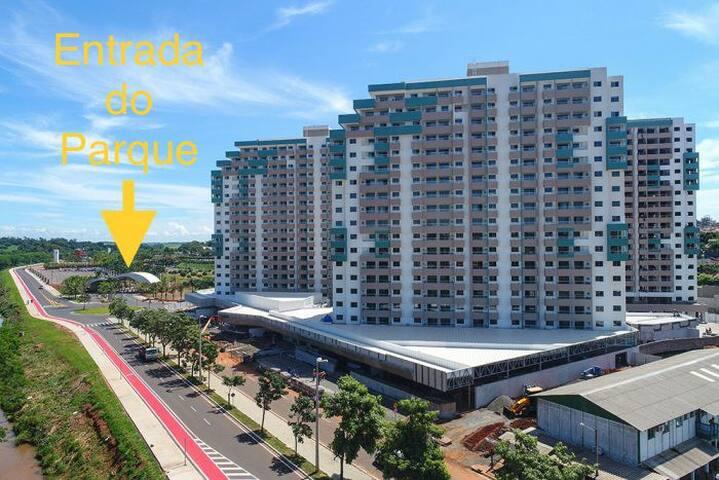 Apartamento no Enjoy Olímpia Park Resort