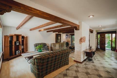 Casa en  Huichapan Pueblo Magico de estilo rustico