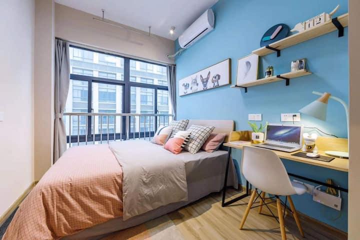 青年公寓,淮河路步行街,整租,独栋公寓,24小时安保,租金月付