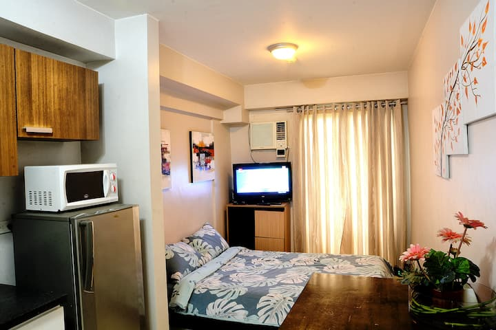 Cozy studio unit 217 with wifi & cable TV.