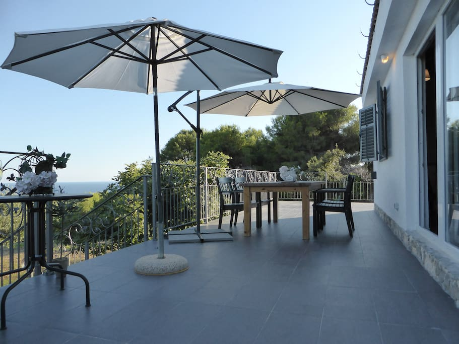 South terrace