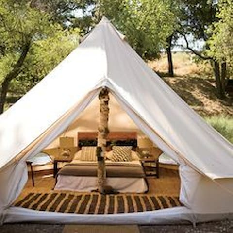 Glamping Tent on the Lake - Yaque Abajo