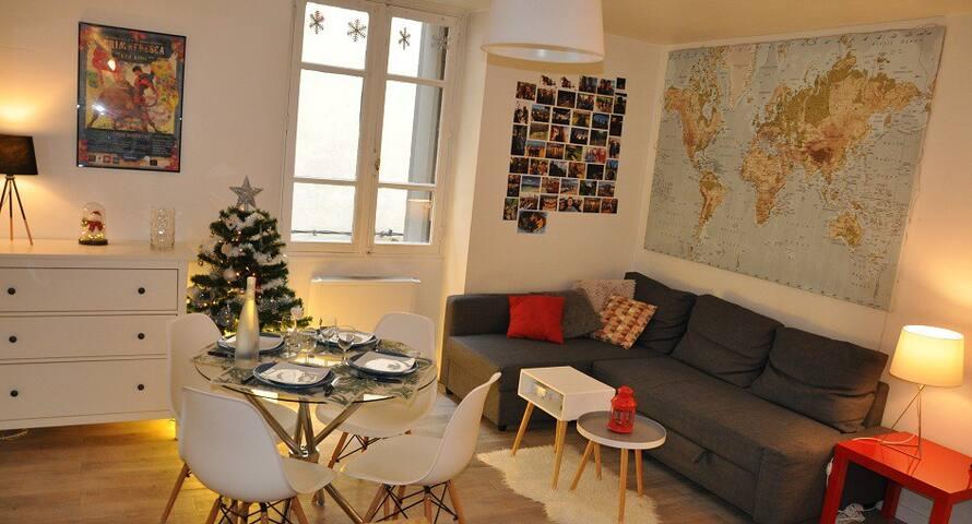 L'appartement de la découverte Romaine