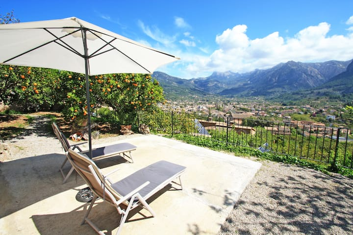 Wonderful cottage in Soller, lovely views