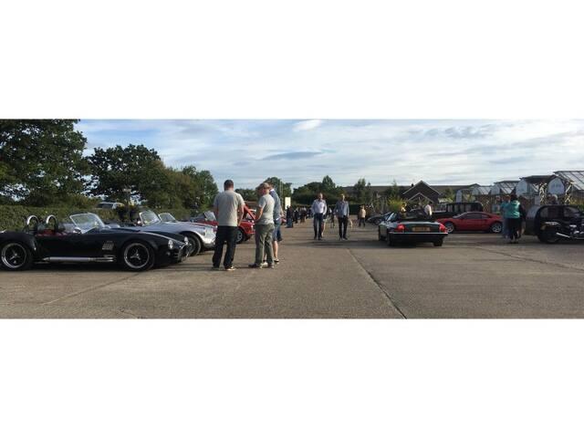 Classic Car show Langton garden centre. Weds 21st August 5-9pm.