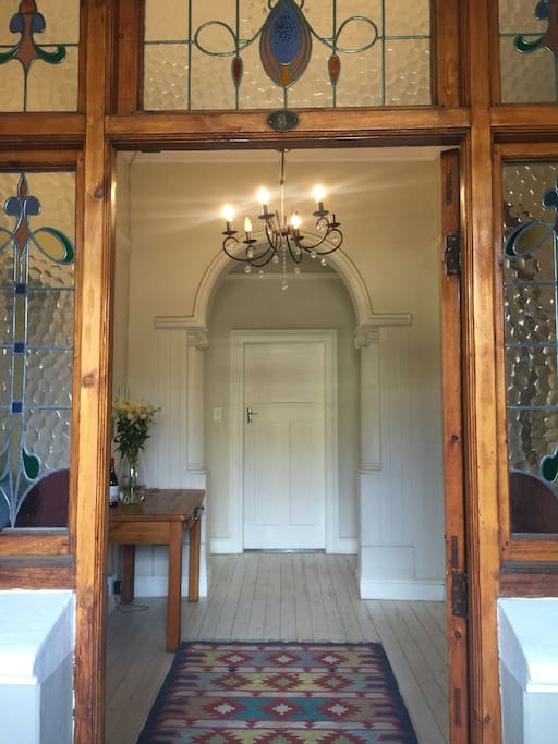 Old Victorian Beauty, with Stained glass windows, Wooden floors and High ceilings