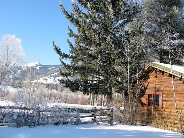 Great Wyoming Cabin - Restored
