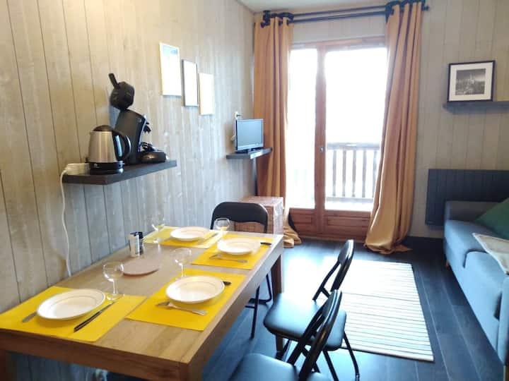 Appartement résidence calme VALMEINIER 1800