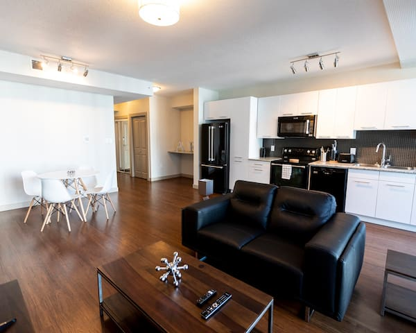 Downtown Edmonton/ 1BR great for relocation