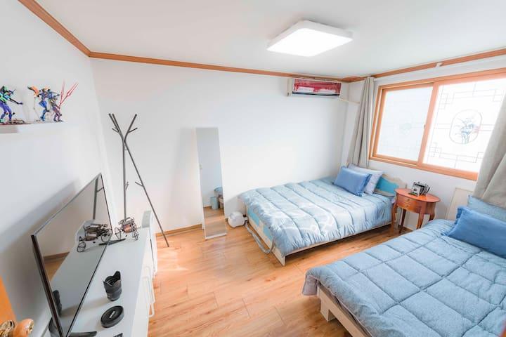 영대병원역 jung's house : standard twin room