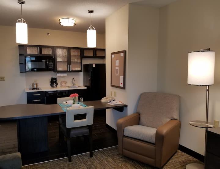 One Bedroom Suite, Candlewood Suites Syracuse!