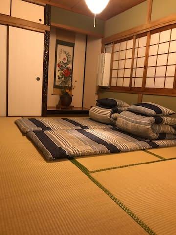 清香苑201室 日式和風Good access to Namba,USJ,,,in Osaka