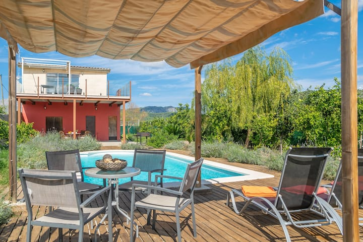 ELS TARONGERS DE SON GALLINA - Beautiful villa with private pool in the countryside. Free WiFi