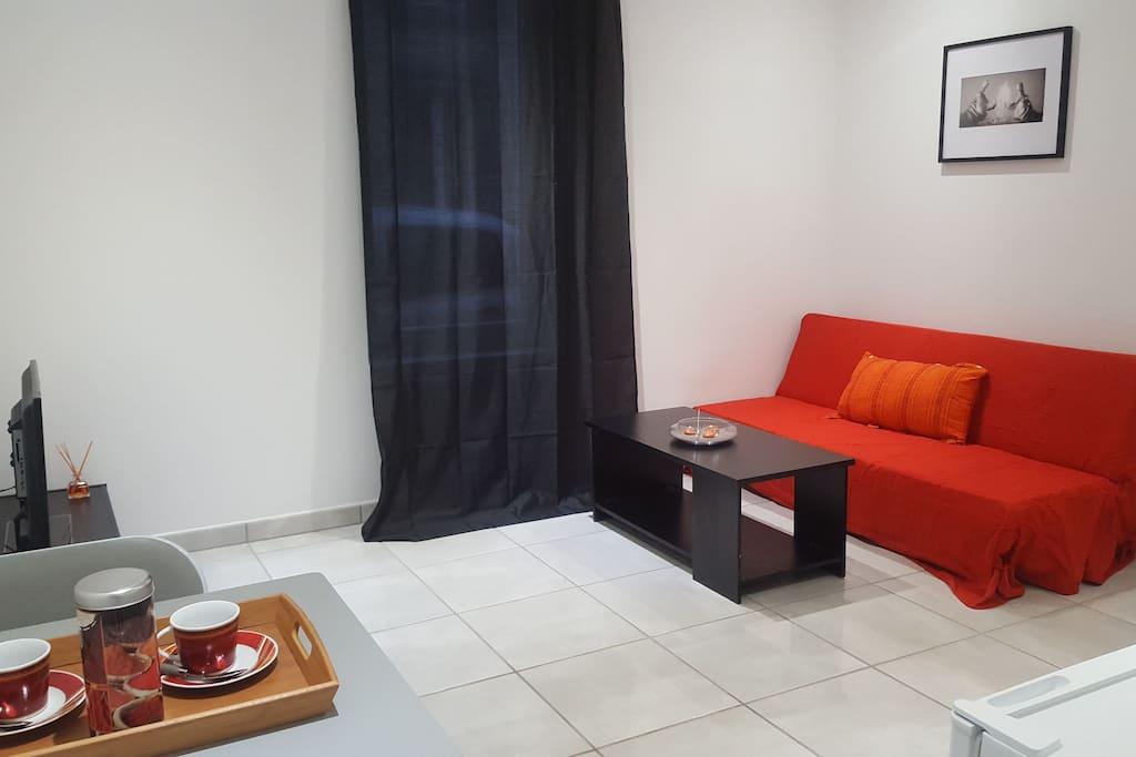 magnifique f2 tout neuf en plein coeur de vichy appartements louer vichy auvergne rh ne. Black Bedroom Furniture Sets. Home Design Ideas