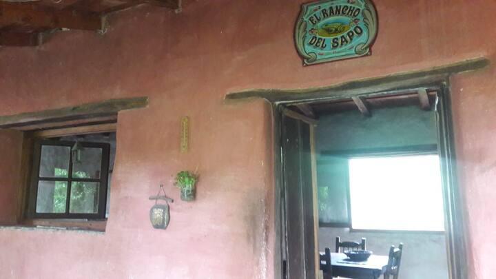 """Casa de campo"""" el rancho del sapo"""""""