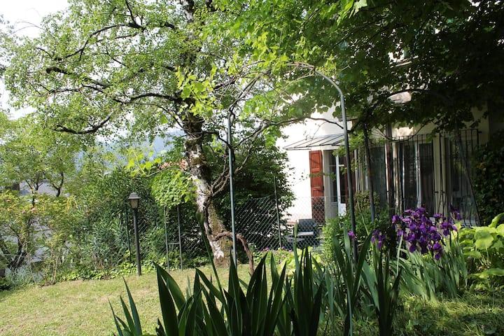 Villa Liberty Lake ,in centro, exclusive garden .