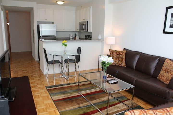 Hudson Street 1 bed Suites