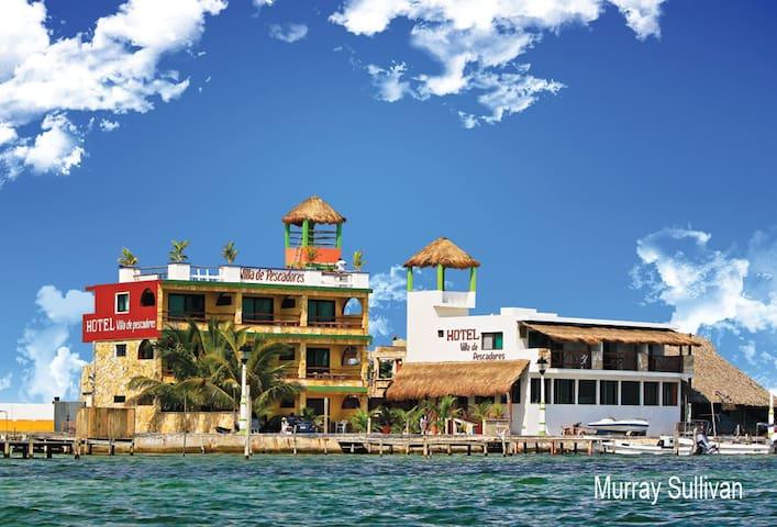 Habitacion en Hotel Villa de Pescadores - Río Lagartos