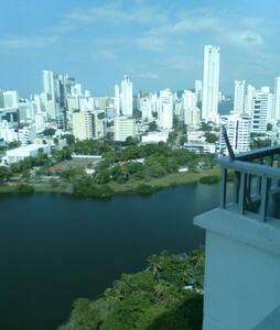 Buena vista, estudio piso 20 - Cartagena - Apartment