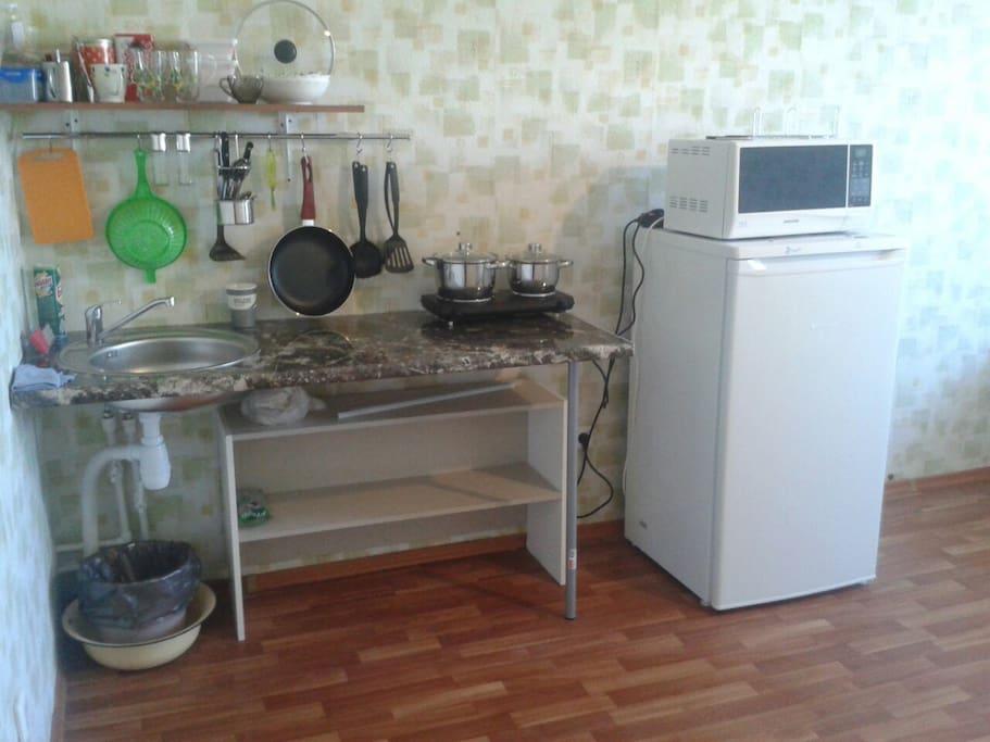 Кухня для приготовления еды