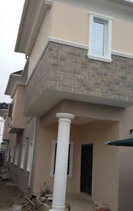 Semi detached duplex in Ogudu Orioke Estate - Lagos - Rumah Tamu